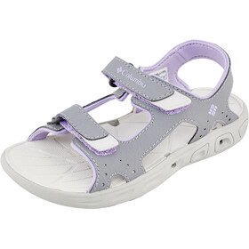 Columbia Techsun Vent Sandals Kids tradewinds grey/white violet